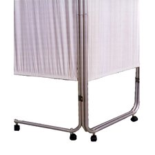 <strong>Presco-Webber Corporation</strong> Four Panel Privacy Screen with Casters
