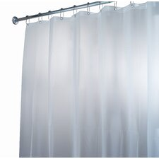 EVA Waterproof Frost Shower Stall Curtain / Liner