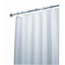 <strong>InterDesign</strong> EVA Polyester Frost Extra Long Shower Curtain / Liner