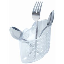 Suction Flatware Holder