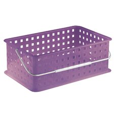 <strong>InterDesign</strong> Spa Medium Basket with Handles