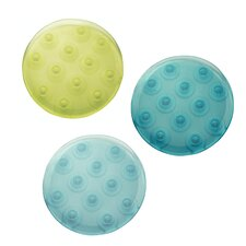 <strong>InterDesign</strong> Glee Rain Bath Dot (Set of 6)