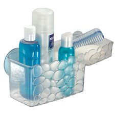 <strong>InterDesign</strong> Pebblz Bath Suction Combo Basket