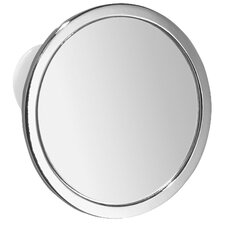 "Suction 7.7"" H x 5.8"" W Shower Mirror"