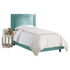 <strong>Skyline Furniture</strong> Border Micro-Suede Youth Bed