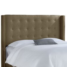 <strong>Skyline Furniture</strong> Groupie Upholstered Wingback Headboard