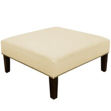Chambers Nail Button Cocktail Ottoman
