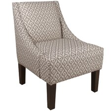 Clover Swoop Arm Chair