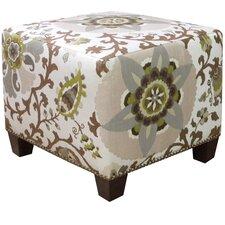 Silsila Nail Button Ottoman