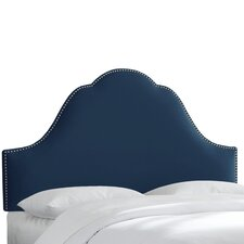 Velvet Upholstered Headboard