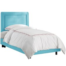 Border Upholstered Youth Bed