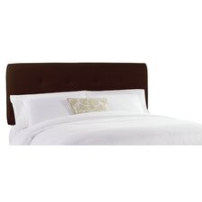 <strong>Skyline Furniture</strong> Double Button Tufted Upholstered Headboard