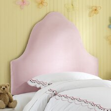 High Arc Micro Suede Upholstered Headboard