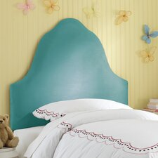 High Arc Micro-Suede Upholstered Headboard