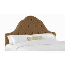 Tufted High Arch Upholstered Headboard