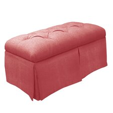 <strong>Skyline Furniture</strong> Skirted Linen Storage Bench