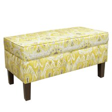 <strong>Skyline Furniture</strong> Upholstered Storage Bench