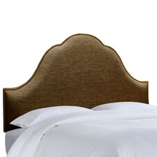 Nail Button Groupie Upholstered Arch Headboard