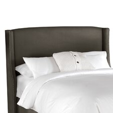 <strong>Skyline Furniture</strong> Nail Button Napa Wingback Headboard