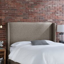 <strong>Skyline Furniture</strong> Groupie Wingback Upholstered Headboard