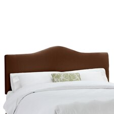 Shantung Upholstered Arched Panel Headboard