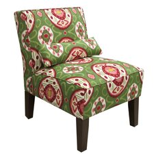 Global Fabric Slipper Chair