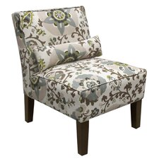 Silsila Fabric Slipper Chair