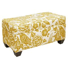 <strong>Skyline Furniture</strong> Canary Upholstered Storage Bench