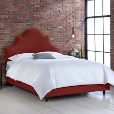 Linen Panel Bed