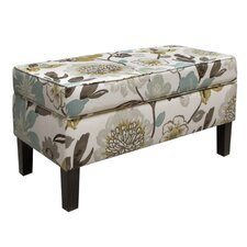 <strong>Skyline Furniture</strong> Gorgeous Fabric Storage Bench