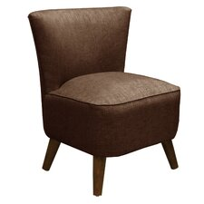 <strong>Skyline Furniture</strong> Groupie Mid Century Fabric Slipper Chair