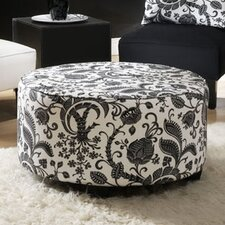 <strong>Skyline Furniture</strong> Lounge Fabric Cocktail Ottoman