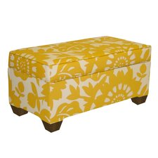 <strong>Skyline Furniture</strong> Fabric Storage Ottoman