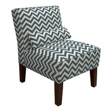 <strong>Skyline Furniture</strong> Fabric Slipper Chair