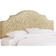 Sudan Nail Button Upholstered Headboard