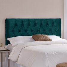Tufted Velvet Upholstered Headboard
