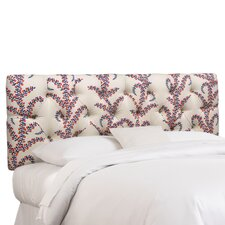 <strong>Skyline Furniture</strong> Tufted Fabric Upholstered Headboard