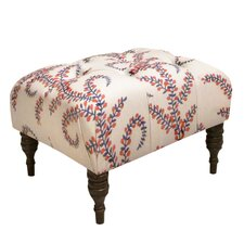 <strong>Skyline Furniture</strong> Tufted Ottoman