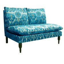 Armless Chaise Loveseat