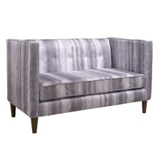 5 Button Settee Loveseat