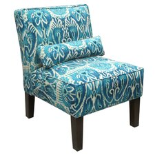 <strong>Skyline Furniture</strong> Fabric Armless Chair