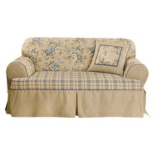 Lexington Loveseat Skirted Slipcover