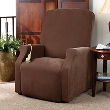 Stretch Pique Medium Recliner Slipcover