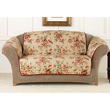 <strong>Sure-Fit</strong> Lexington Floral Pet Loveseat Cover