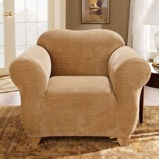 Stretch Royal Diamond Box Cushion Chair Slipcover