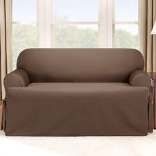 Logan Loveseat T-Cushion Slipcover