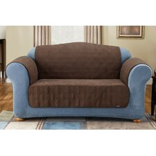 <strong>Sure-Fit</strong> Soft Suede Friend Pet Sofa Cover