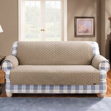 <strong>Sure-Fit</strong> Cotton Duck Furniture Friend Loveseat Cover