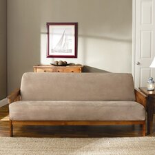 <strong>Sure-Fit</strong> Soft Suede Futon Cover