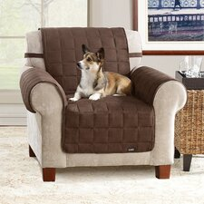 <strong>Sure-Fit</strong> Soft Suede Pet Chair Cover